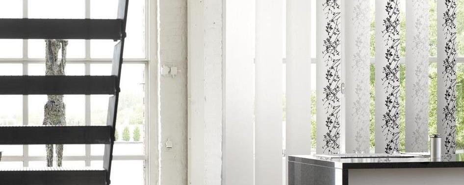 A bandes verticales d co nuances magasin de d coration vis li ge for Store bande verticale marseille