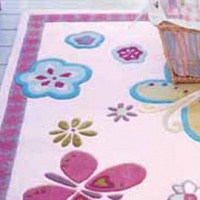 elgin flower rugs